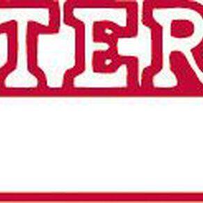 Xstamper Stamp Entered Date Red