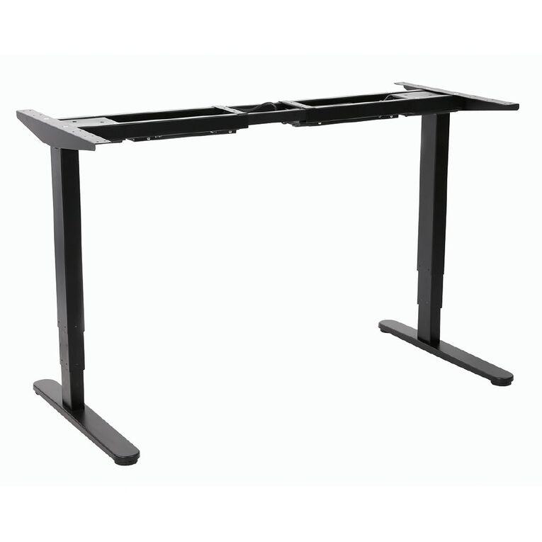 Workspace Office Brand Height Adjustable Desk 1800 White, , hi-res