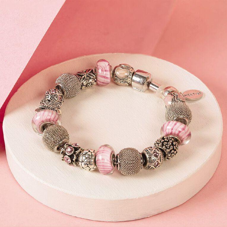 Mestige Crystals from Swarovski' Mystique Bracelet in Silver, , hi-res