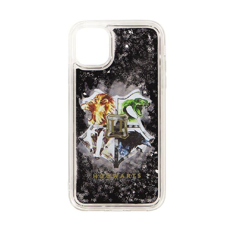 Harry Potter Hogwarts Crest iPhone 11 Glitter Case, , hi-res image number null