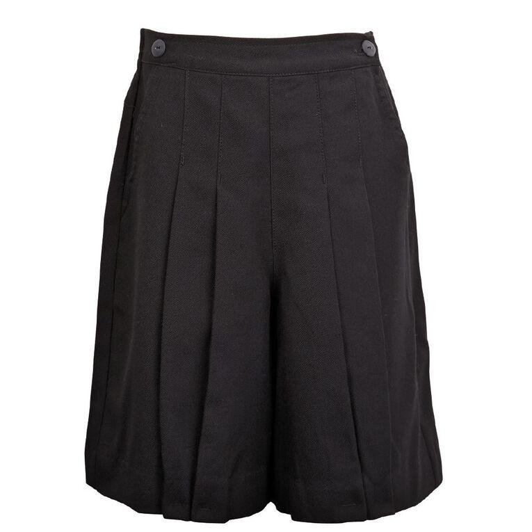 Schooltex Culottes, Black, hi-res
