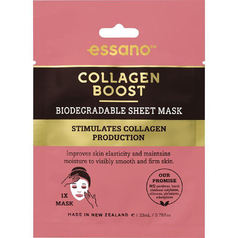 Essano Collagen Sheet Mask 23ml, , hi-res
