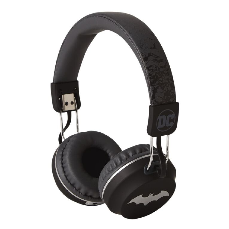 Batman Wireless Headphones Grey, , hi-res