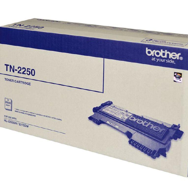 Brother Toner TN2250 Black (2600 Pages), , hi-res