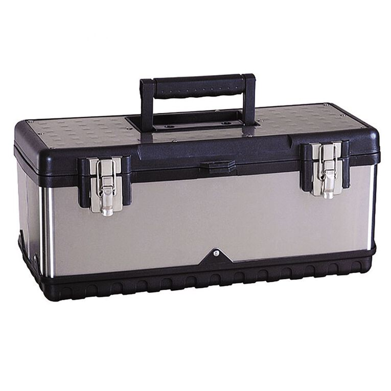 Mako Stainless Steel Tool Box 15 inch, , hi-res image number null
