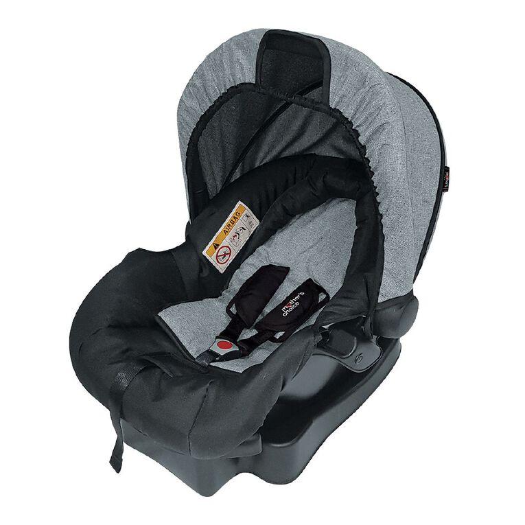 Mother's Choice Scout Capsule - Grey Linen, , hi-res