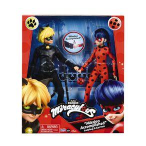 Miraculous Ladybug Fashion Doll 2 Pack