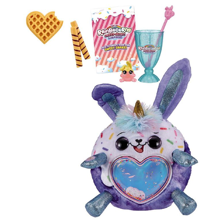 Zuru Rainbocorns Plush Sweet Shake Surprise Series 1 Assorted, , hi-res
