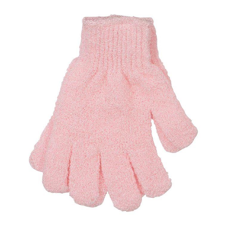 Colour Co. Shower Mitt Pink 2 Pack, , hi-res