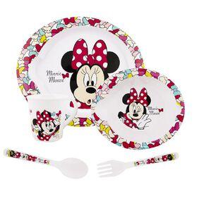 Minnie Mouse Zak! Licensed Minnie Mouse 5pc Feeding Set