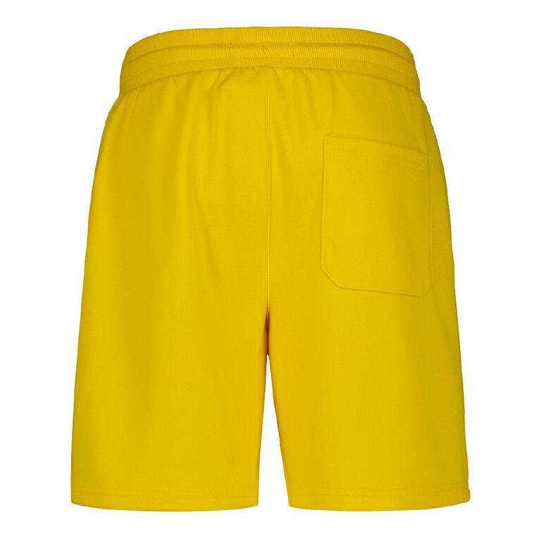 Garage Men's Knit Fresh Shorts, Yellow, hi-res