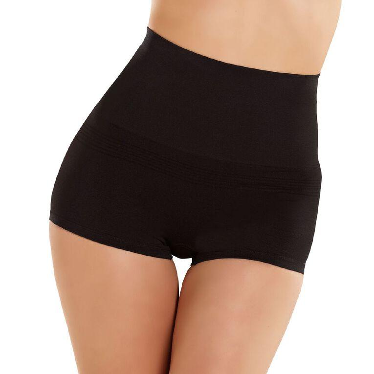 H&H Women's Shapewear Boyleg Briefs, Black, hi-res image number null
