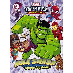 Marvel Superhero Adventures Colouring Book