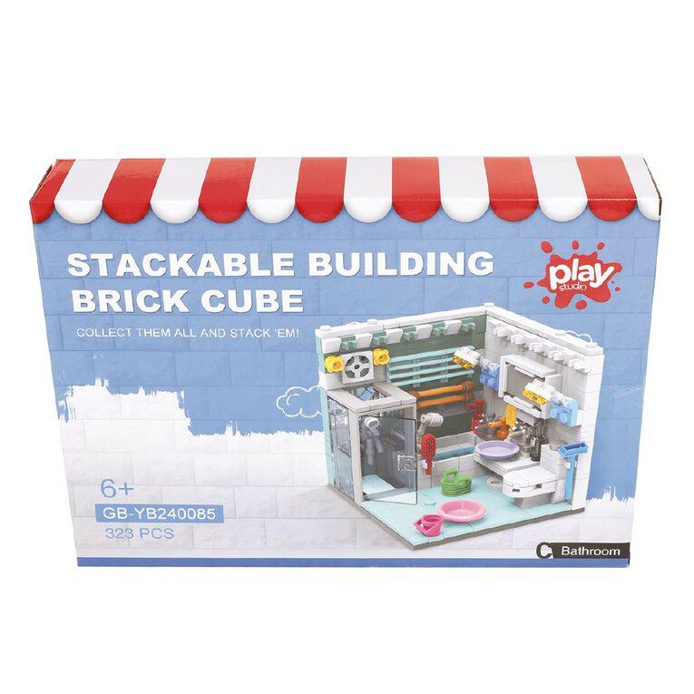 Play Studio Stackable Building Brick Cube, , hi-res