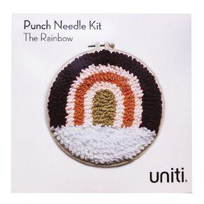 Uniti Punch Needle Kit The Rainbow