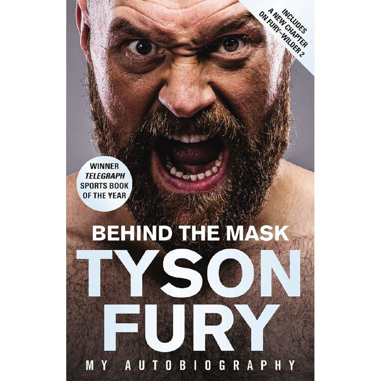 Behind the Mask by Tyson Fury, , hi-res image number null