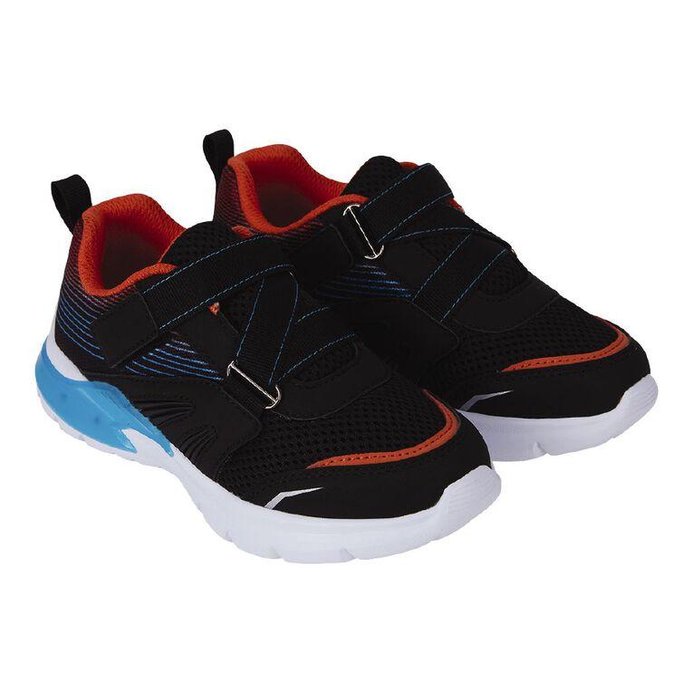 Active Intent Boys' Flash Shoe, Black, hi-res