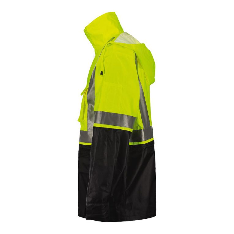 Rivet High Visibility Day & Night Compliant Jacket, Yellow, hi-res