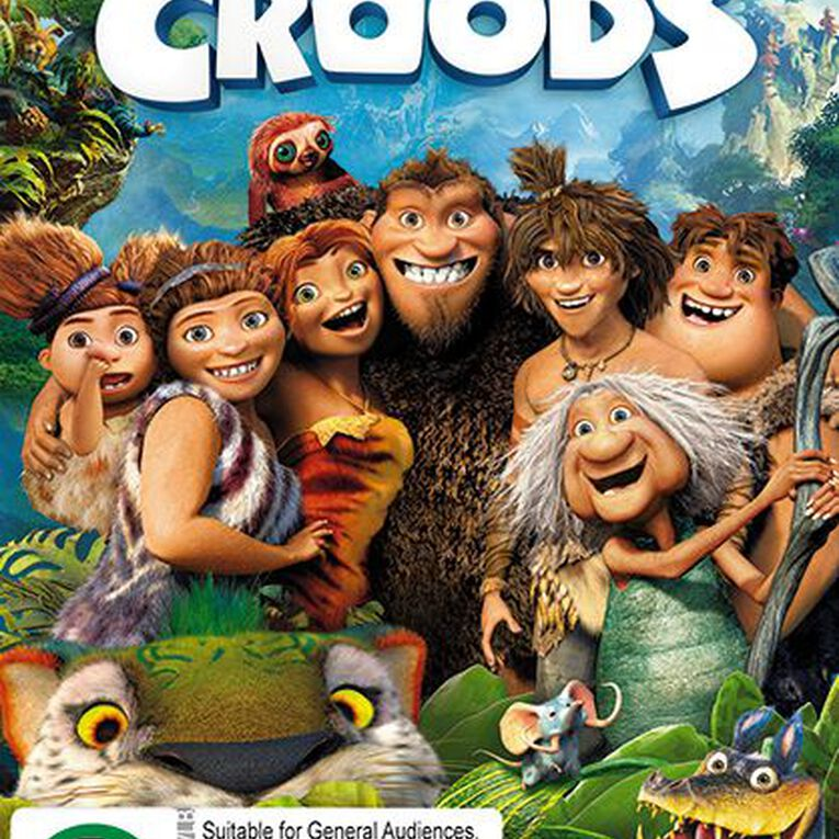 The Croods DVD 1Disc, , hi-res