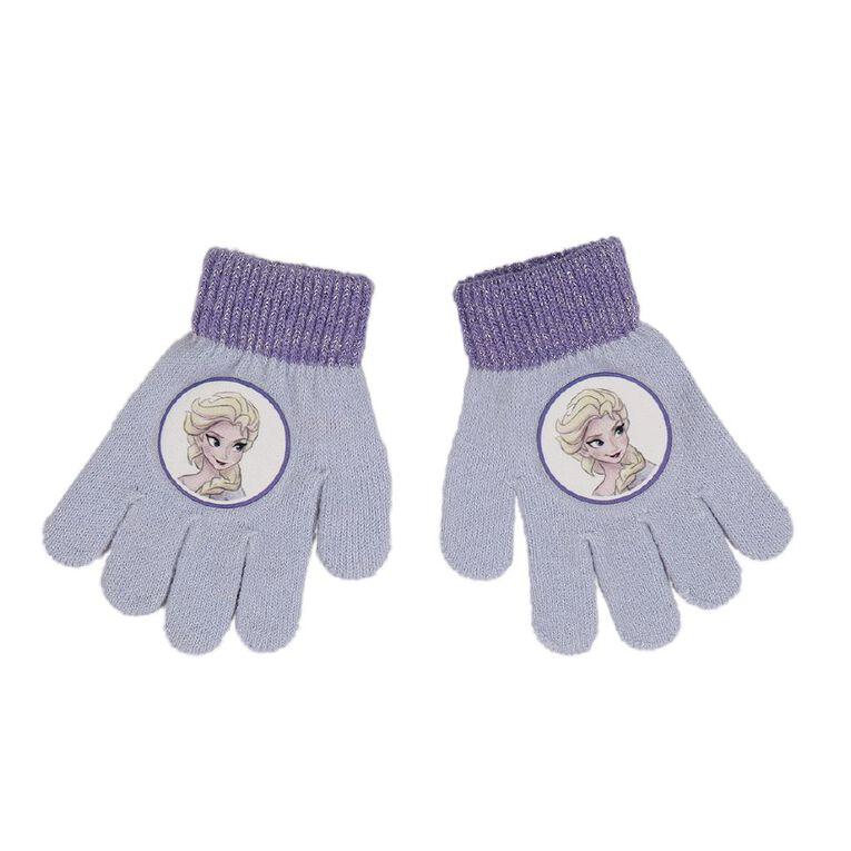 Frozen Kids' Frozen Gloves, Blue Light, hi-res
