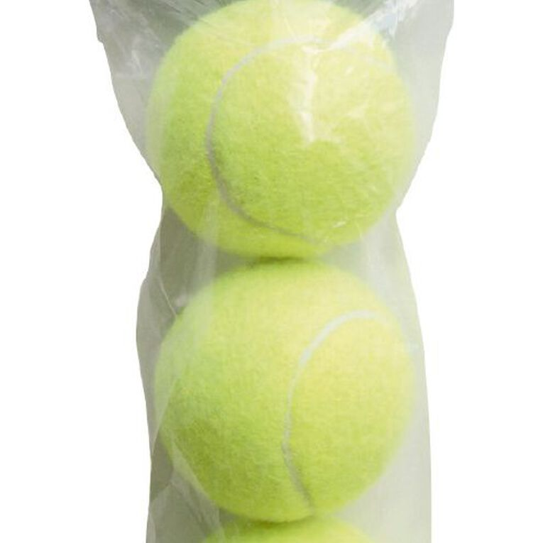 Active Intent Sports Tennis Ball Yellow 3 Pack, , hi-res