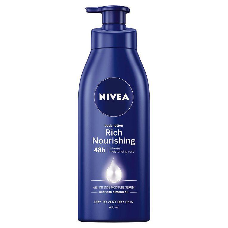 Nivea Rich Nourishing Body Lotion 400ml, , hi-res