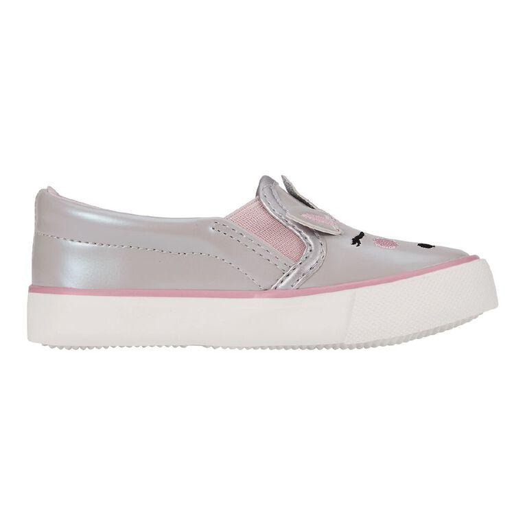 Young Original Kids' Unicorn Shoes, Silver, hi-res