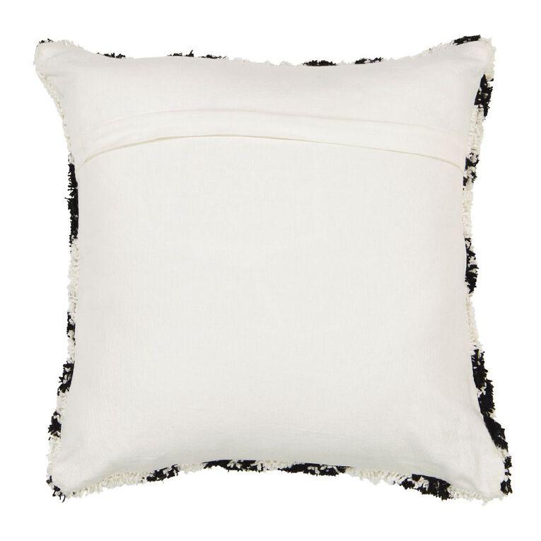Living & Co Plush Berber Cushion Cream 45cm x 45cm, Cream, hi-res image number null