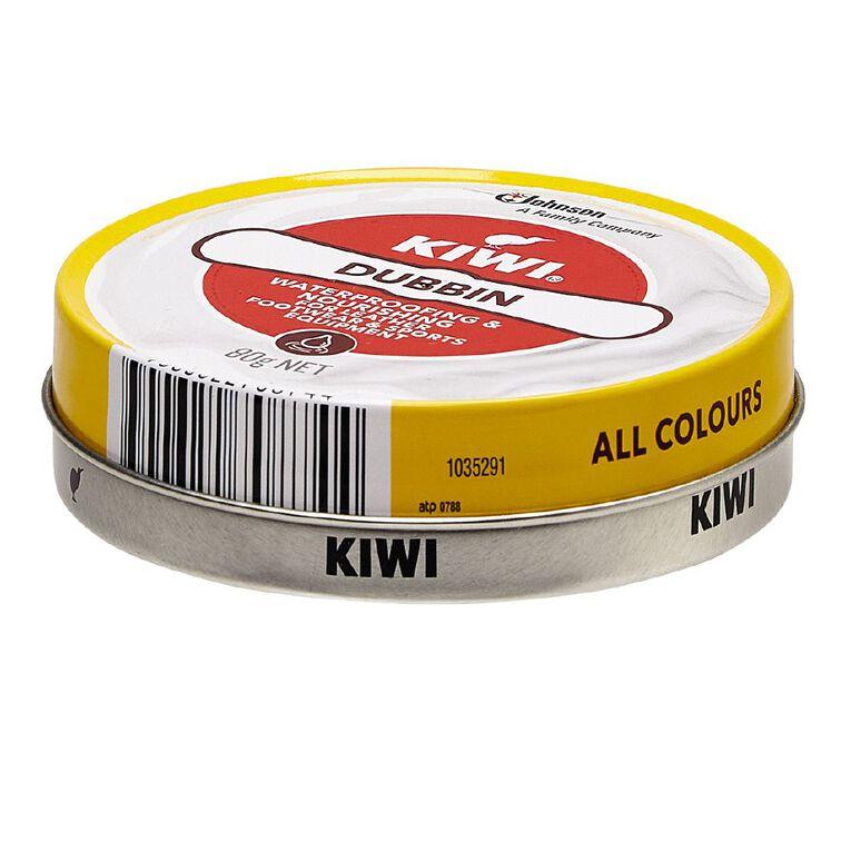 KIWI Dubbin Polish 80gm, No Colour, hi-res