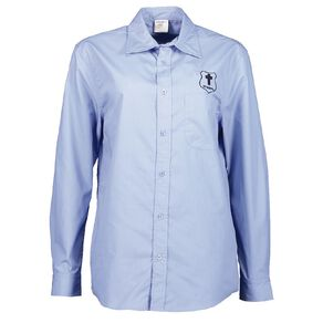 Schooltex St Mary's Hastings Long Sleeve Shirt with Embroidery