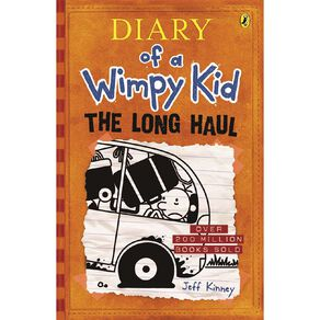 Diary of a Wimpy Kid #9 Long Haul by Jeff Kinney N/A