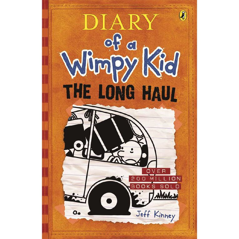 Diary of a Wimpy Kid #9 Long Haul by Jeff Kinney, , hi-res
