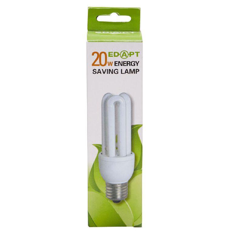 Edapt Mini Energy Saver 3U 20W Edison Screw, , hi-res