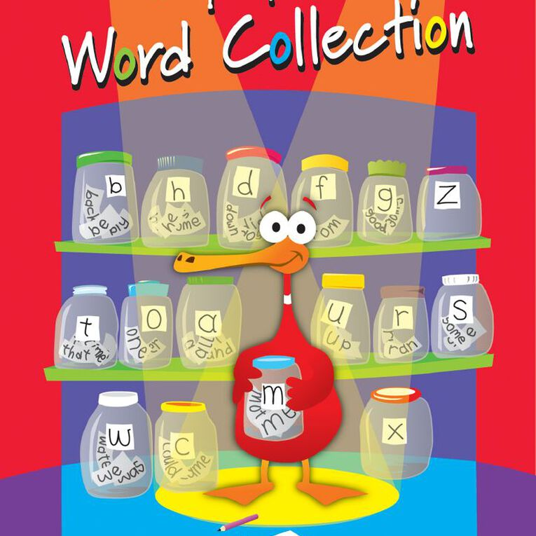 Kluwell My Special Word Collection Multi-Coloured, , hi-res