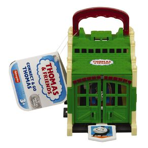 Thomas & Friends Fisher-Price Trackmaster Build Your Own Tidmouth Sheds