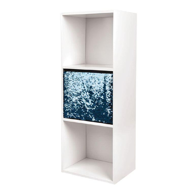 Living & Co Mia Bookcase Storage Insert Sequin, , hi-res