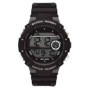 Active Intent Men's Sports Digital Watch Black