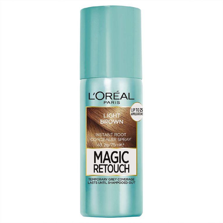 L'Oreal Paris Magic Retouch Light Brown 75ml, , hi-res
