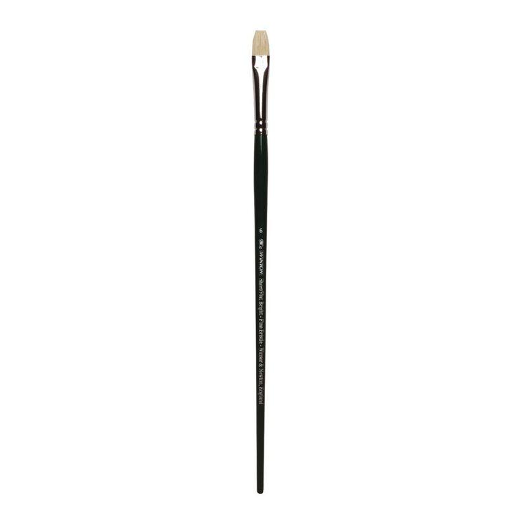 Winsor & Newton Winton Brush Short Flat Size 6, , hi-res