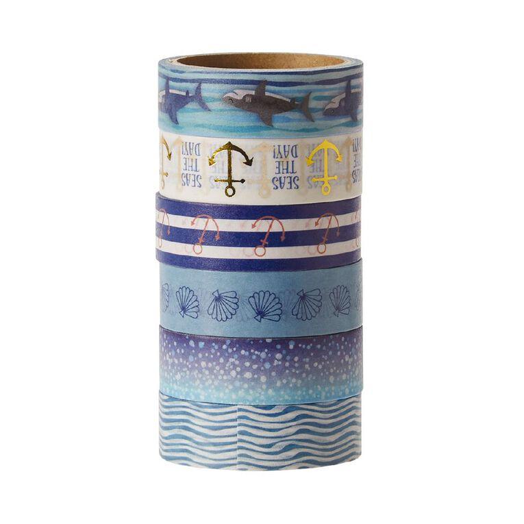 Uniti Washi Tape 6 Pack Oceania, , hi-res