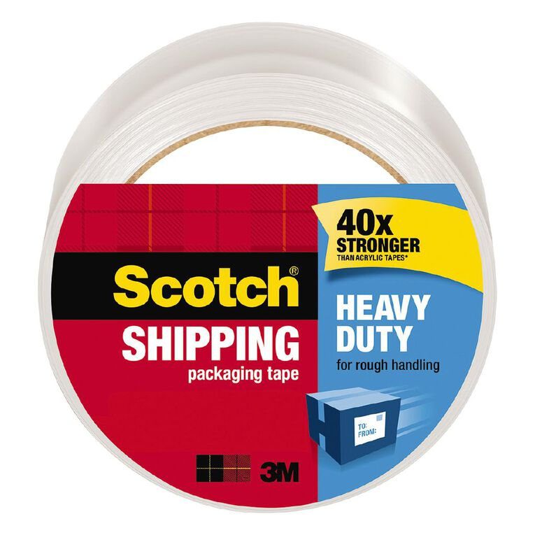 Scotch Packaging Tape Heavy Duty 48mm x 50m Clear, , hi-res