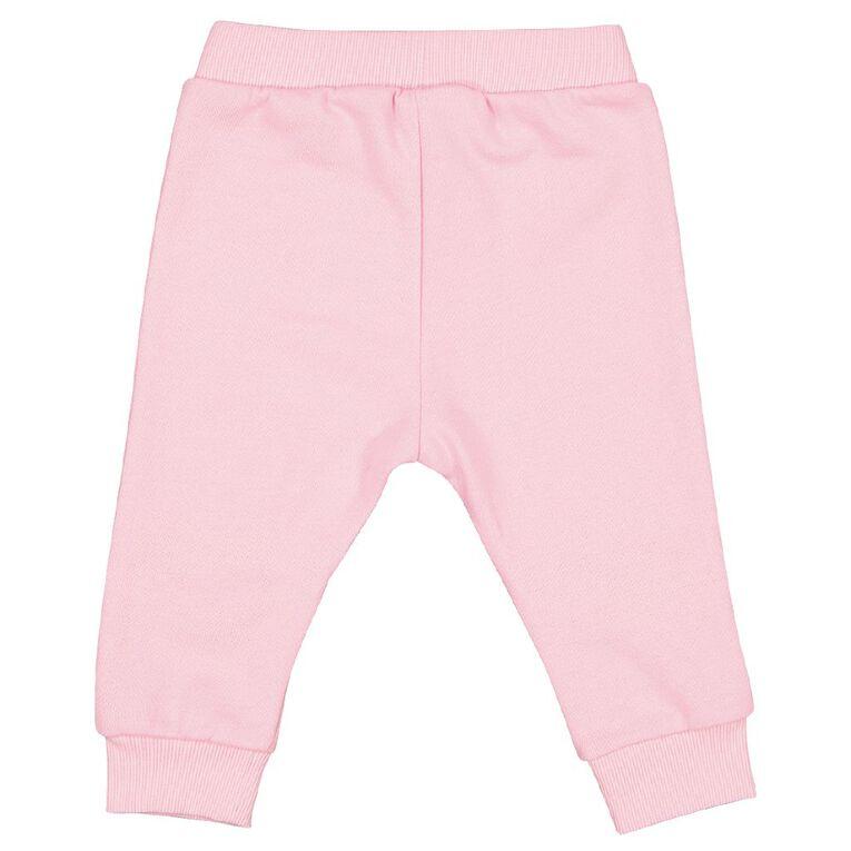 Young Original Baby Novelty Trackpant, Pink Light, hi-res