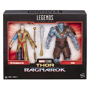 Marvel Legends 80th Anniversary Grandmaster and Korg Set