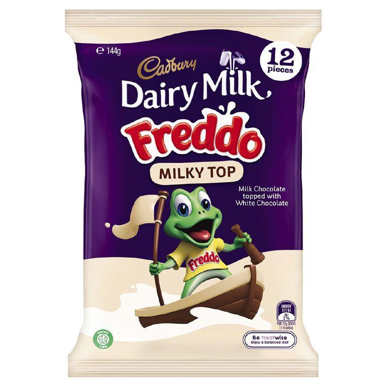Cadbury Dairy Milk Freddo Milky Top Sharepack 144g, , hi-res