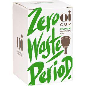 Oi Menstrual Cup Medium 1 Pack