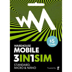 Warehouse Mobile Multi SIM