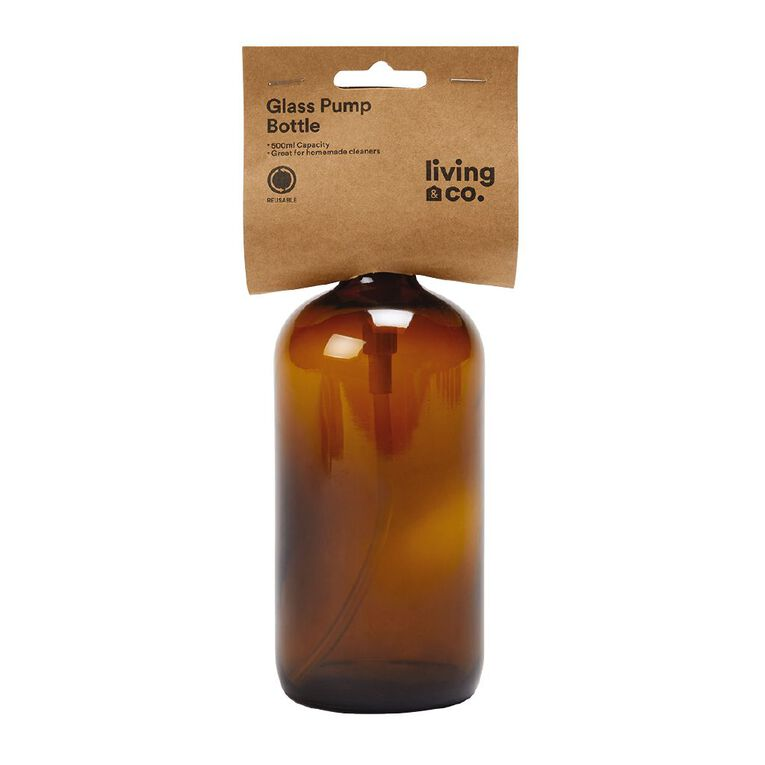 Living & Co Glass Cleaning Pump Bottles Flame Gold 500ml, , hi-res