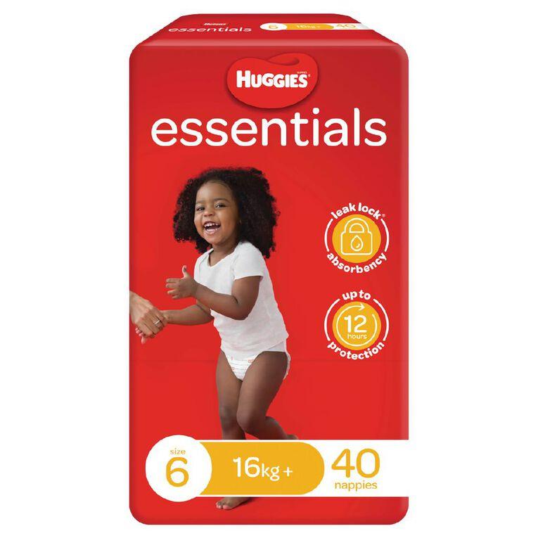 Huggies Essential Nappy Junior 40 pack, , hi-res image number null