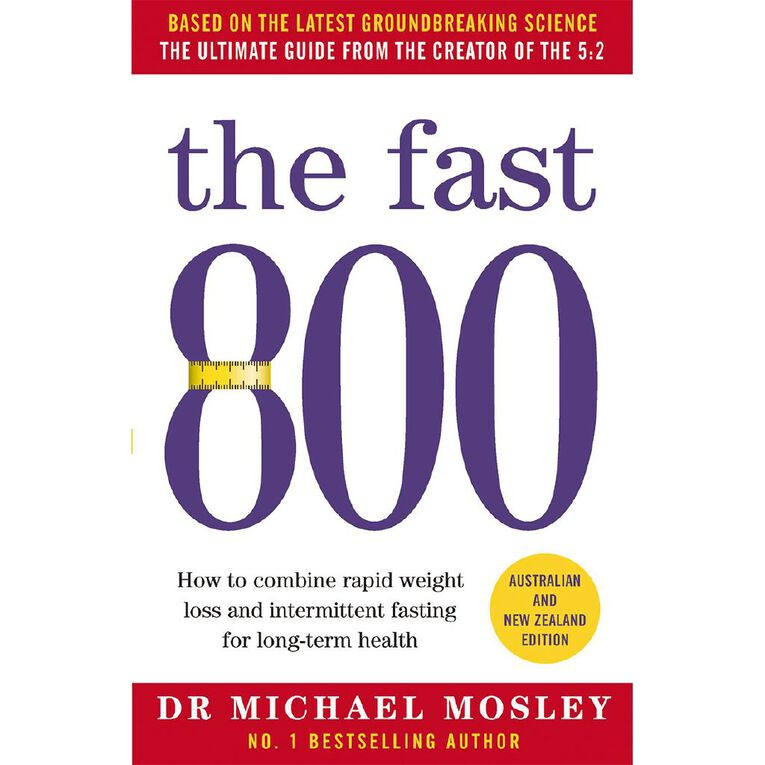 Fast 800 by Dr Michael Mosley, , hi-res