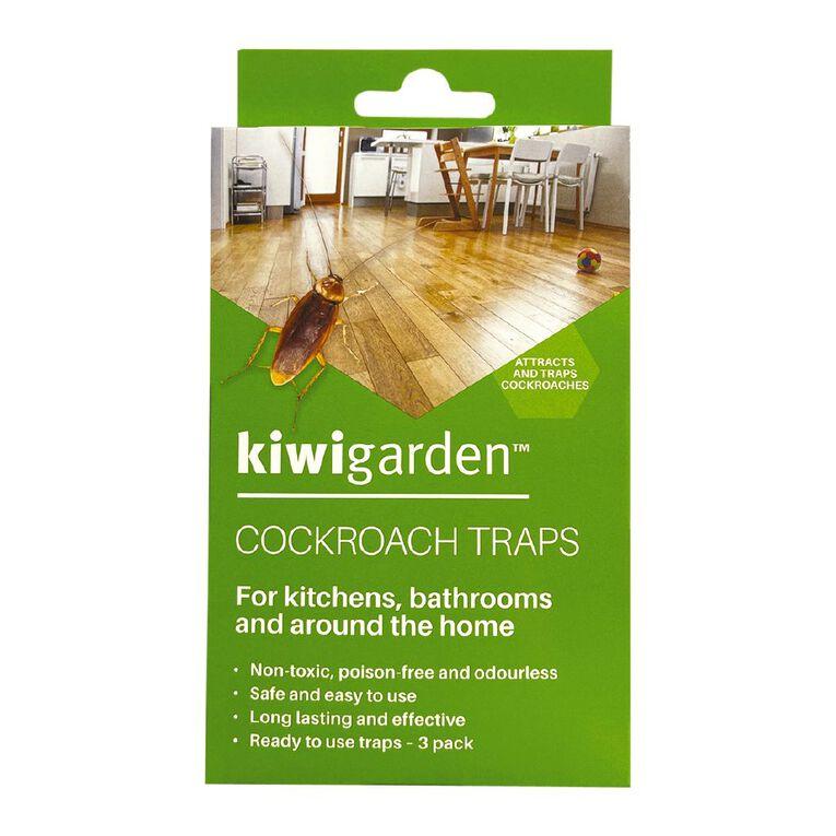 Kiwi Garden Cockroach Traps 3 Pack, , hi-res